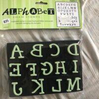 Foam Letter Stamps