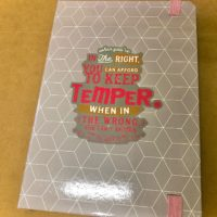 A5 Lined Notebook – in the right