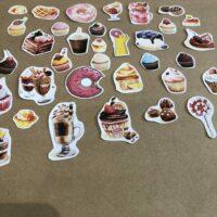 Sweet Treats 1 Journal Stickers