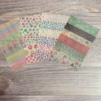 4pc washi tape sheets