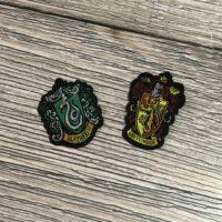 Iron on badges-HP