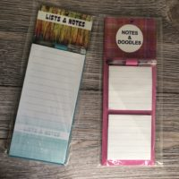 Fridge memo pad- notes & doodles