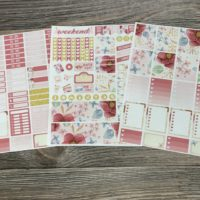 3pc planner stickers