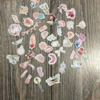 Pink sticker pack