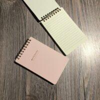 Pink Wiro Notepad