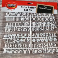 Extra Letterboard Letters