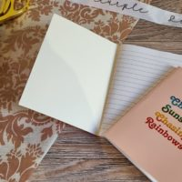 A6 Chasing Sunsets Notebook