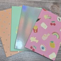 4pk B5 Lined notebooks